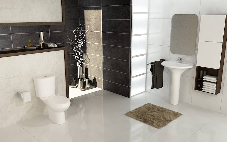 Marbella toilet close couple