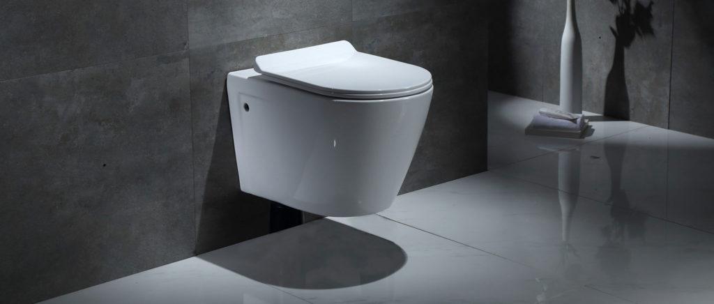 Toilet Gray Bathroom